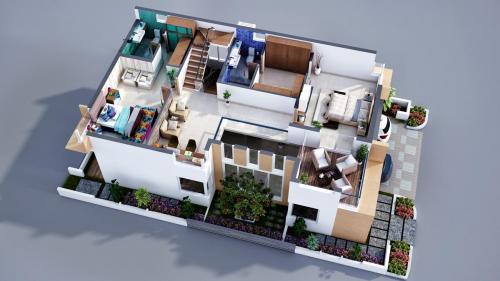 Sancia-West-villa-first-Floor-3d-plan